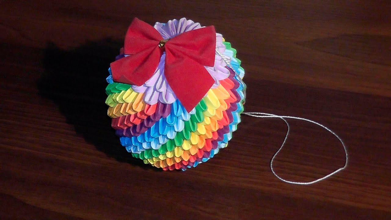 Игрушки оригами мастер класс