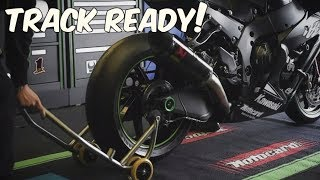 2017 Kawasaki Ninja ZX-10RR | Full Transformation to a Track Bike