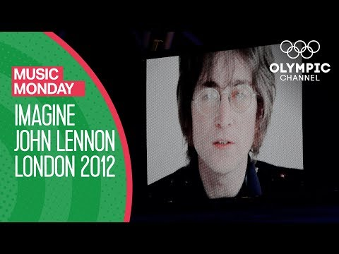John Lennon's Imagine @ London 2012 Olympics - Children's Choir Performance   Music Monday