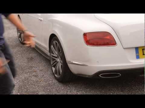 Bentley Continental GT Speed 2013, тест-драйв