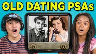 TEENS REACT TO DATING (OLD PSAs)