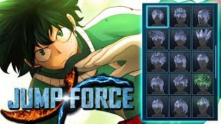 JUMP FORCE: All NEW Avatar & Create a Character REFRENCES!