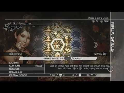 Ninja Gaiden 3: Razor's Edge Infinite Karma Glitch