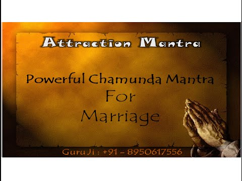 Powerful Chamunda Mantra For Marriage,all Problem Solution Mantra For Lovers,to Consult Guru Ji video