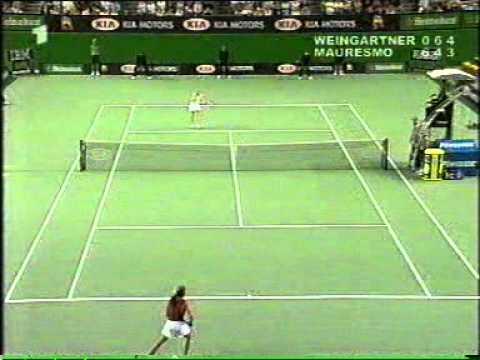 全豪オープン 2002 4th Round モーレスモ vs. Weingärtner 7/8