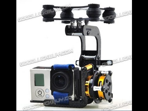 GOODLUCKBUY 2 axis brushless gimbal MARTINEZ contr