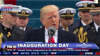 FULL SPEECH: Donald Trump Inauguration Speech - 45th President Of The United States (FNN)