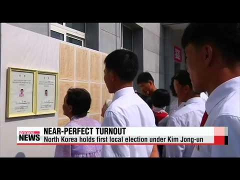 North Korea holds first local election under Kim Jong-un   북 김정은 체제 첫 지방의회 선거, 집