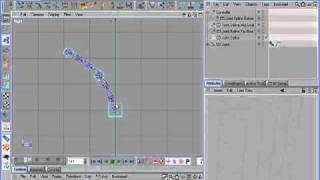 C4D Tutorial - Dynamic Spline IK Rigging with CD Character Plugins