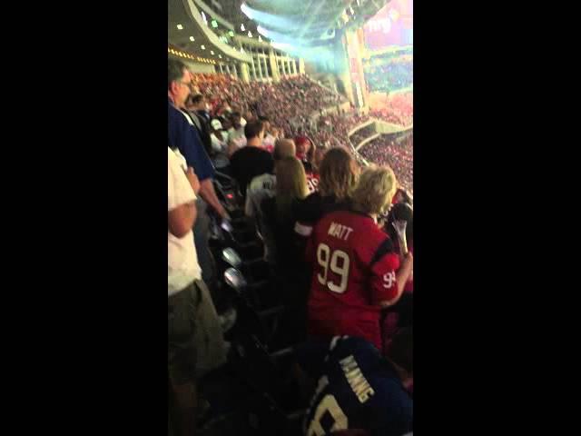 Houston Texans Fight 10.8.15