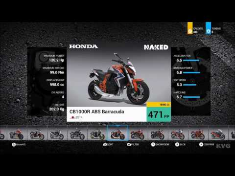 RIDE 2 - All Bikes   Motorcycles - List (HD) [1080p60FPS]