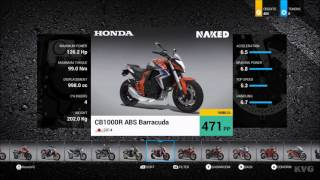 RIDE 2 - All Bikes | Motorcycles - List (HD) [1080p60FPS]