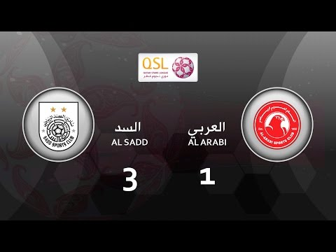 Al Sadd 3 - 1 Al Arabi (week 20)