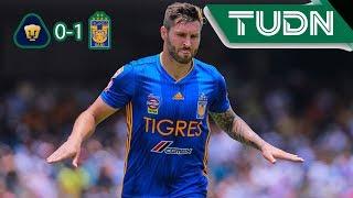 Resumen Pumas 0 - 1 Tigres   Apertura 2019 - Jornada 3   TUDN