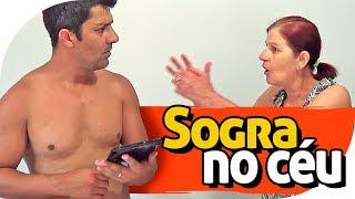 SOGRA MORRE E CHEGA NO CÉU - PIADA DE SOGRA - PARAFUSO SOLTO