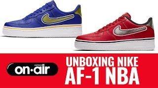 SBROnAIR Vol. 97 - Unboxing Nike Air Force 1 NBA #piranomeuair