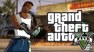 Grand Theft Auto 5 | CJ Casa/CJ´S House Groove Street (GTA V)