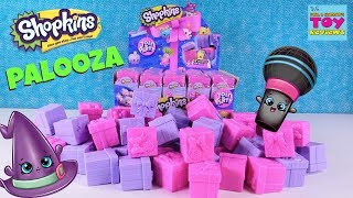 Shopkins Palooza Surprise Present Season 7 Full Box Toy Review Opening | PSToyReviews