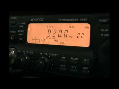 ZP1 Radio Nacional del Paraguay (Asunción, Paraguay) signing off - 920 kHz