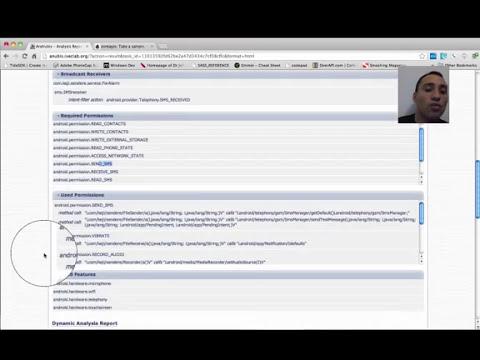 Basic Malware Anaylsis with Anubis online sandbox