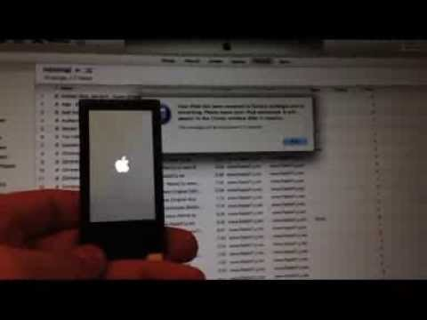How To Restore iPod Nano 7th Generation To Factory Settings