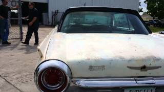 1963 Thunderbird FOR SALE Video 2