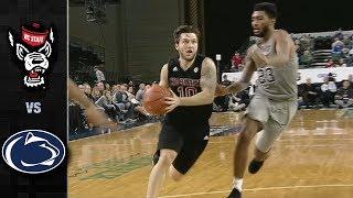 NC State vs. Penn State Basketball Highlights (2018-19)