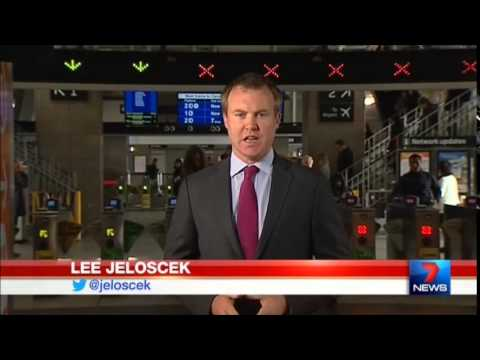 Seven News Sydney - Paper transport tickets retirement (4/8/2015)