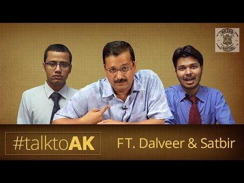 Nazar Battu - Exclusive Arvind Kejriwal Interview By Dalveer-Satbeer #TalkToAK