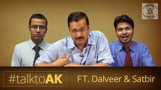 Nazar Battu - Exclusive Arvind Kejriwal Interview By Dalveer-Satbeer #TalkToAK