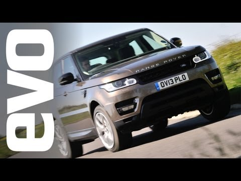 Range Rover Sport 2014 first drive review   evo DIARIES
