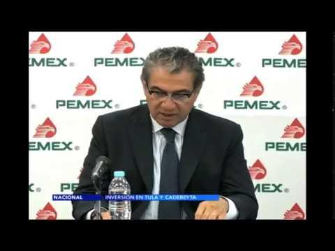 PEMEX y la iniciativa privada invertirán en Tula y Cadereyta