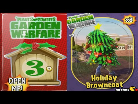 Plants vs Zombies Garden Warfare - Holiday BrownCoat Zombie
