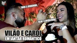 VILÃO LEVA CAROL PARA JANTAR  ROMÂNTICO E RUIVA FICA BRAVA