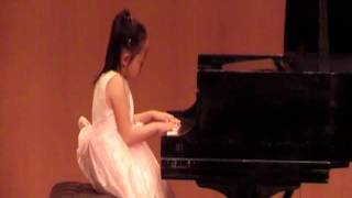 7 years old  Piano + Violin  Anna Yang
