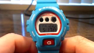 Lifted Research Group DW6900LRG-2 - Obama Blue LRG Casio G-Shock Watch Review - Limited Edition