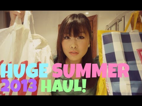 Huge Summer Haul: Dailylook, H&M, F21, B&BW, Jacob, Garage ♥