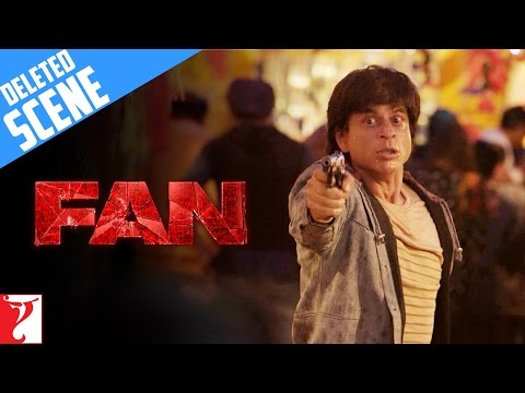FAN | Deleted Scene 9 | A Deadly Chase | Shah Rukh Khan
