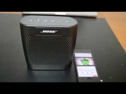 Bose Color Soundlink & JBL Charge Sound Test