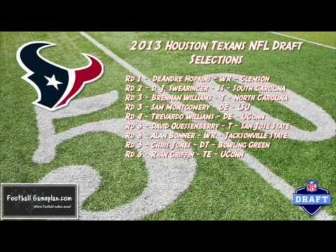 Football Gameplan's 2013 NFL Draft Grades - Houston Texans