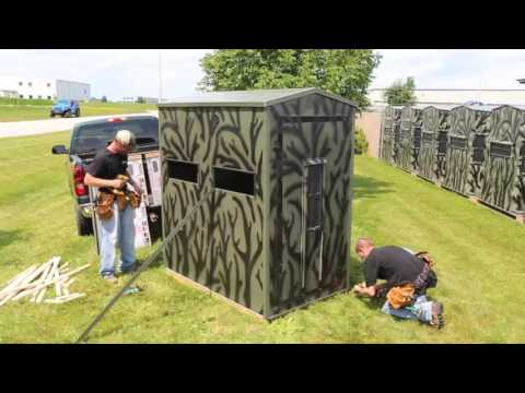 4x6 Shadow Hunter Kit Blind Assembly Instructions
