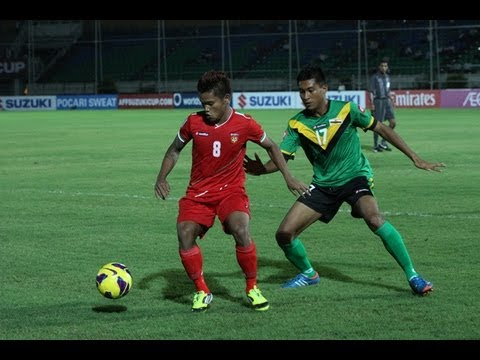 FULL MATCH: Myanmar vs. Brunei - AFF Suzuki Cup 2012 (Qualifying Round)