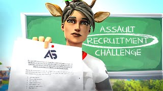 How to Join Team Assault! 200k Recruitment Challenge (How to Join a Fortnite Team)
