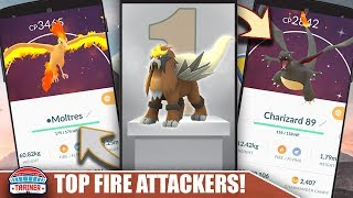 BEST OF THE BEST - IS ENTEI WORTH POWERING UP - BEST FIRE TYPE ATTACKERS | POKEMON GO