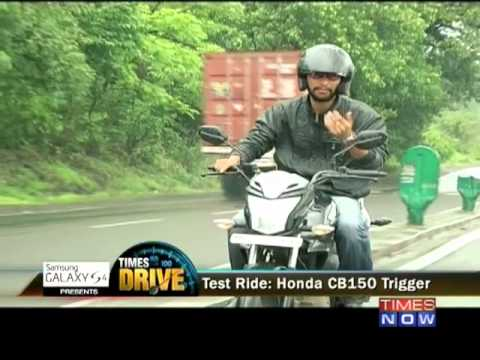 Times Drive: Test ride of Honda CB150 Trigger