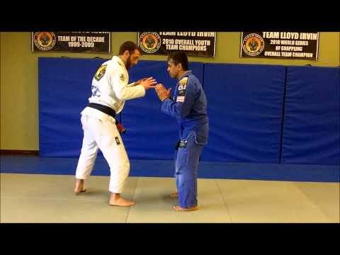 Double Leg Trip Takedown | Downingtown PA BJJ | Team Lloyd Irvin Image 1