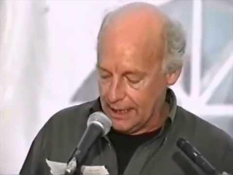 Eduardo Galeano en la Carpa Blanca