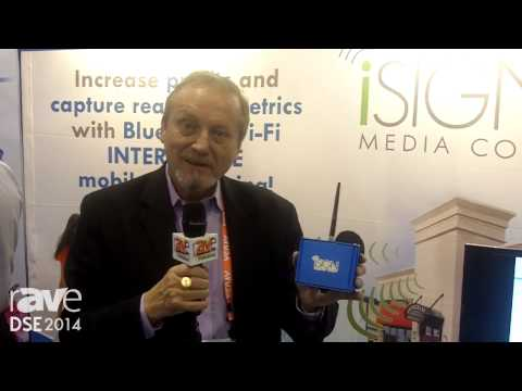 DSE 2014: iSign Media Demos the iSign Smart Antenna to Identify and Message Nearby Phones