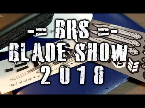 BRS at Blade Show 2018!  Booth #241