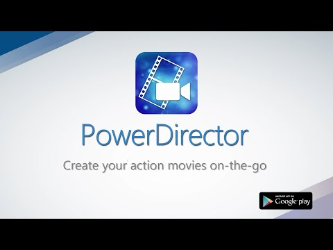 PowerDirector Video Editor App: 4K, Slow Mo & More APK Cover